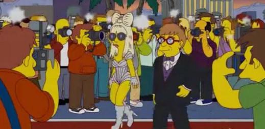 Lady Gaga a Elton John v epizodě Simpsonů