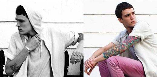 Model Josh Beech se propůjčil Pull & Bear