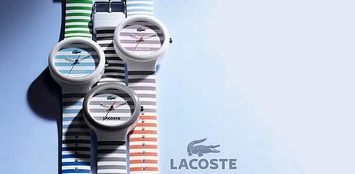 Pruhované hodinky Lacoste GOA