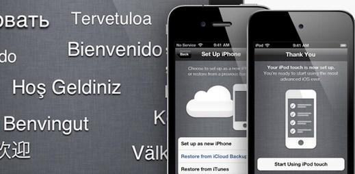 200 novinek v iOS5 pro iPad, iPhone a iPod
