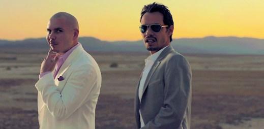 Pitbull a Marc Anthony v novém letním klipu Rain Over Me
