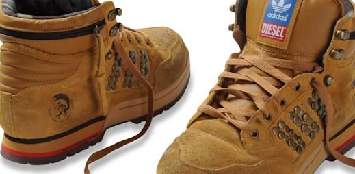 Diesel a Adidas opět spolu, vznikla nová luxusní kolekce obuvi