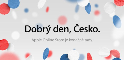 Apple obchod už funguje i v Česku, iPhone 4 za výhodné ceny