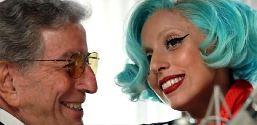 Tony Bennett s Lady Gaga v novém klipu The Lady Is A Tramp