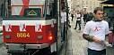Dopravní podnik proti AIDS projede ulicemi Prahy
