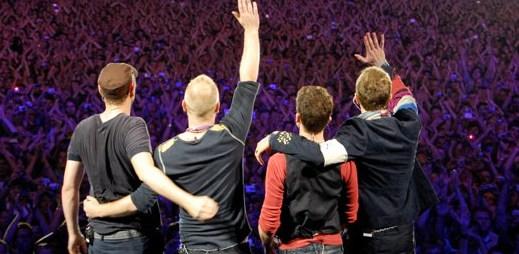 Koncert Coldplay: V polovině září navštíví Prahu