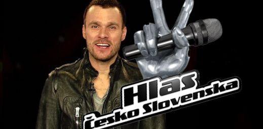 Leoš Mareš a Tina budou moderovat Hlas Česko Slovenska
