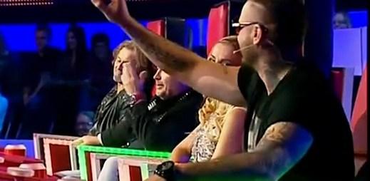 Hlas: Rytmus a Michal David se hádali o koučování (video)
