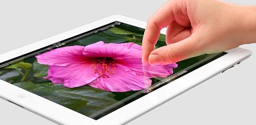 Nový iPad: Extrémně jemný obraz, který nerozeznáte od reality