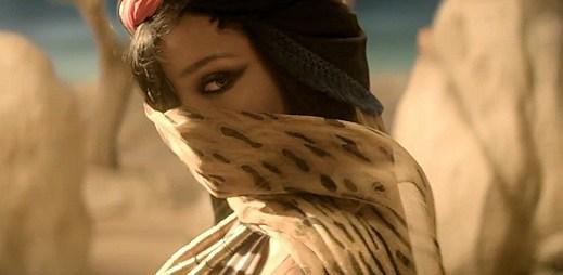 Rihanna jako šamanská tanečnice v klipu Where Have You Been
