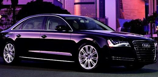 Luxusní vozy Audi, které se prohánějí po silnicích - 1. část