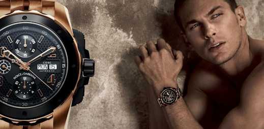 3 luxusní pánské hodinky DG7 od Dolce & Gabbana