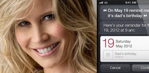iPhone: Karen Jacobsen je žena, která propůjčila hlas Siri