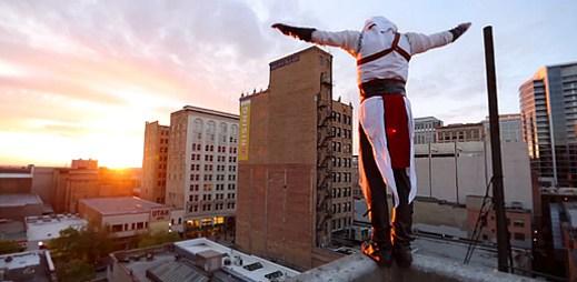 Úžasné parkourové video: Altair z Assassin's Creed v reálném světě