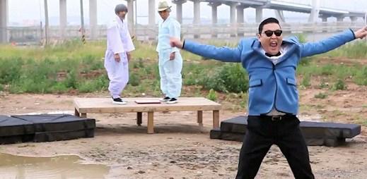 Podívejte se, jak se natáčela korejská hitovka Gangnam Style