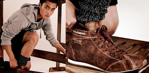 Inspirujte se u tenisek z nové kolekce Dolce & Gabbana