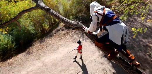 Senzační parkour na motivy herní série Assassin's Creed III