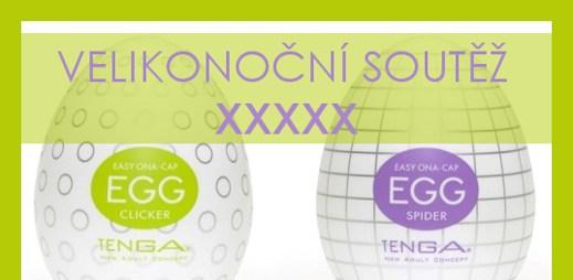 Velikonoční soutěž: Najdi si svá vajíčka Tenga EGG