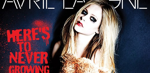 Avril Lavigne: Nový singl Here's To Never Growing Up o dospívání