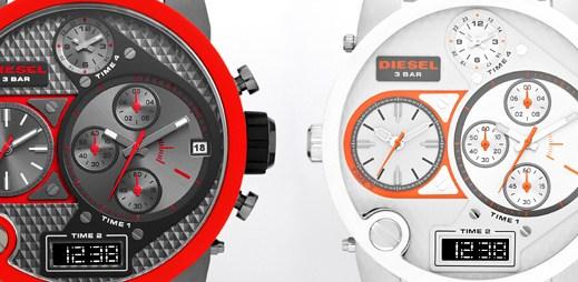 Silikonové hodinky Diesel Mr. Daddy s dynamickým vzhledem