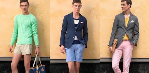 Neuvěřitelně stylová letní kolekce GANT Rugger a sexy model k tomu