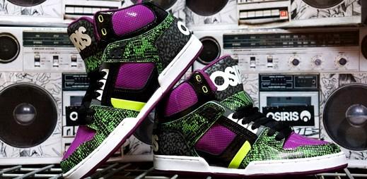 Zajímavé skate a lifestylové boty od Osiris Shoes