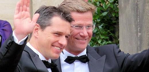 Německý ministr vstoupil do registrovaného partnerství