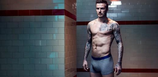 H&M: David Beckham opět ukázal své sexy tělo!