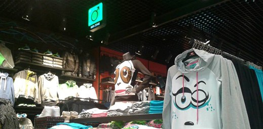 První prodejna Cropp ve Zlíně. Podívejte se, jak vypadá!