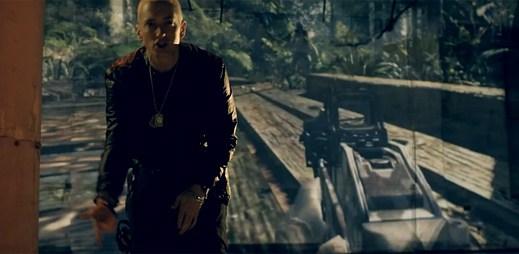 Eminem vydal klip Survival, kterým propaguje videohru Call of Duty