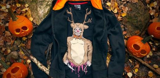 Cropp: Speciální strašidelná trička ušitá pro Halloween