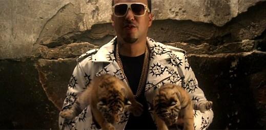 French Montana natočil klip Gifted s malými tygříky