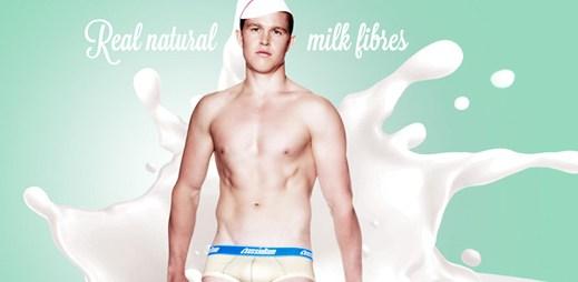 AussieBum představuje unikátní spodní prádlo Milk s mléčnými vlákny