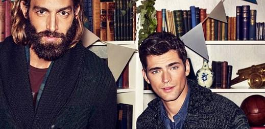 Nejvíce vydělávající model Sean O'Pry si oblékl vánoční kolekci od H&M. A že je sexy!