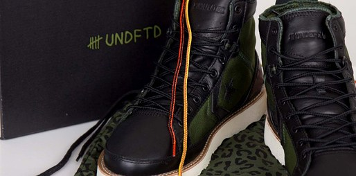 Mrkněte na boty Converse ve vojenském stylu