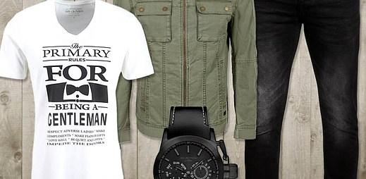 s.Oliver: 4 různé styly se základem zelené bundy džínového vzhledu