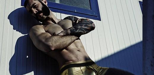 Spodní prádlo Modus Vivendi: Takhle lesklé boxerky jste možná ještě neviděli