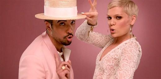Růžová síla útočí: DJ Cassidy, Jessie J a Robin Thicke v klipu Calling All Hearts