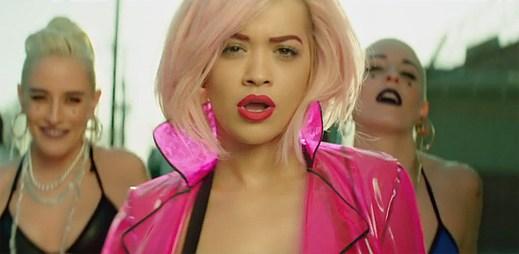 Rita Ora natočila nový klip I Will Never Let You Down, který produkoval Calvin Harris