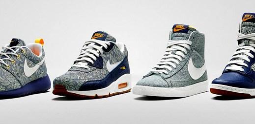 Nike představil boty s květinovým vzorem v anglickém stylu