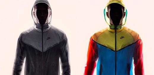 UFO? Ne, jen Nike začal vyrábět nové větrovky