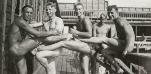 7 unikátních fotografií: Druhá světová válka z pohledu gayů