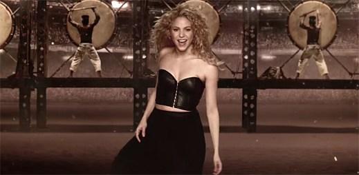 Shakira zremixovala speciální fotbalový klip La La La (Brazil 2014)