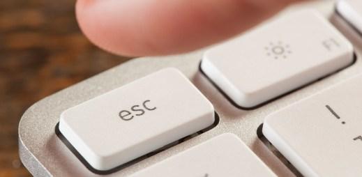 Novinky na webu: Zavírání Zpráv klávesou ESC