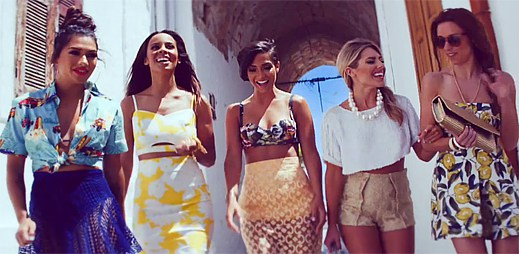 Podívejte se do Řecka s novým klipem What Are You Waiting For od The Saturdays