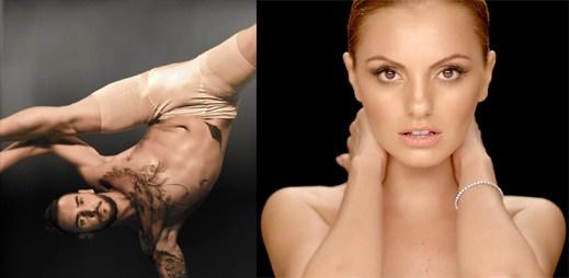 Alexandra Stan předvádí v klipu Dance řeč těla
