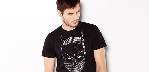 Nosíte na tričkách komiksové motivy? Mrkněte na nová trička s Batmanem a Supermanem