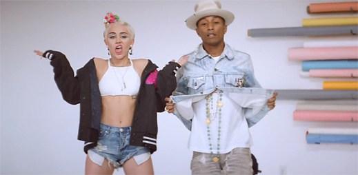Pharrell Williams a Miley Cyrus zpívají: Krása nemá datum expirace