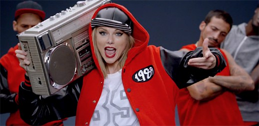 Taylor Swift natočila zábavný videoklip Shake It Off