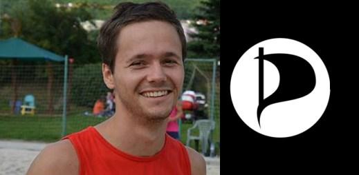 Adam Zábranský: kandiduje za Piráty a chce hájit i práva gayů